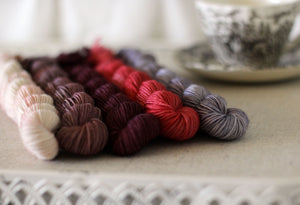 Mini Skeins - Sojourn Sock Yarn - BERRIES