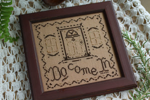Do Come In - Cross Stitch Pattern