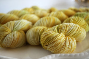 Cottage Sock Yarn - HERE COMES THE SUN