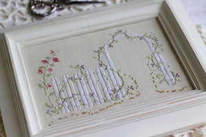 Into the Garden Softly - Cross Stitch Pattern