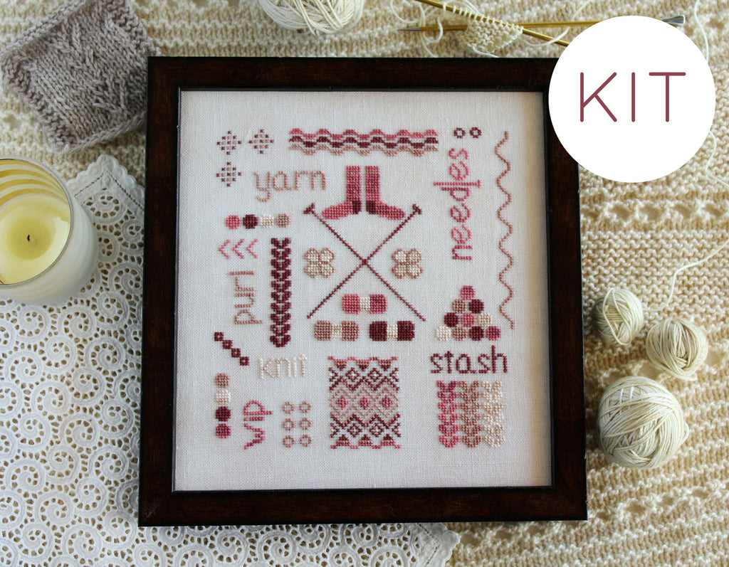 A Knitter's Sampler - KIT