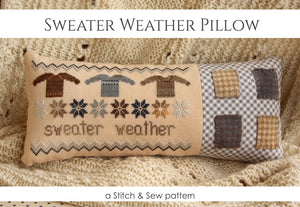 Sweater Weather - STITCH & SEW KIT