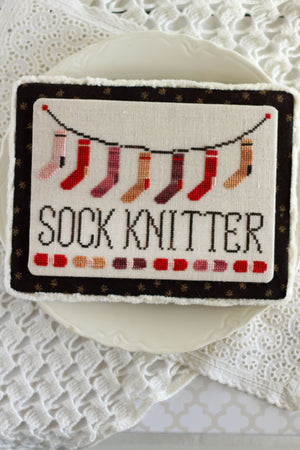 Socks on the Line - Cross Stitch Pattern