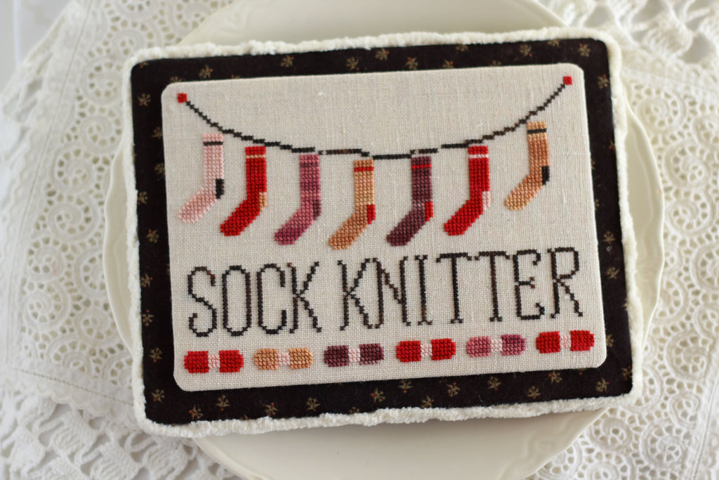 Socks on the Line - PDF Instant Download