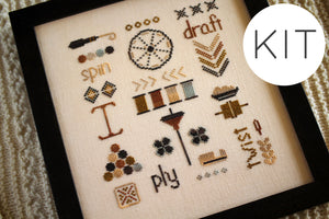 A Spinner's Sampler - KIT
