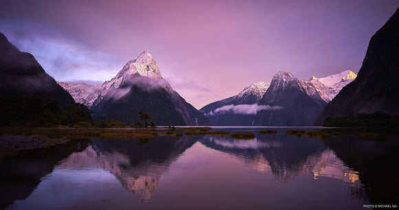 First Light Milford Sound
