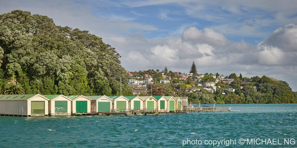 Orakei Boat Sheds - Auckland New Zealand