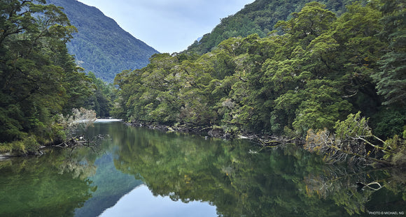 Clinton River  - New Zealand - South Island