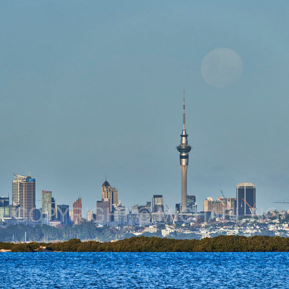 #3Ways ART - Auckland Moon Rise