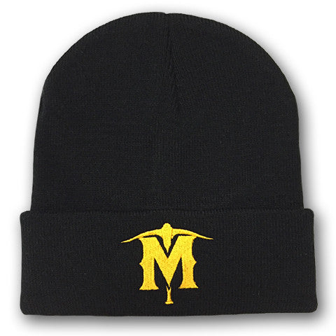 Solid Black Knit Hat