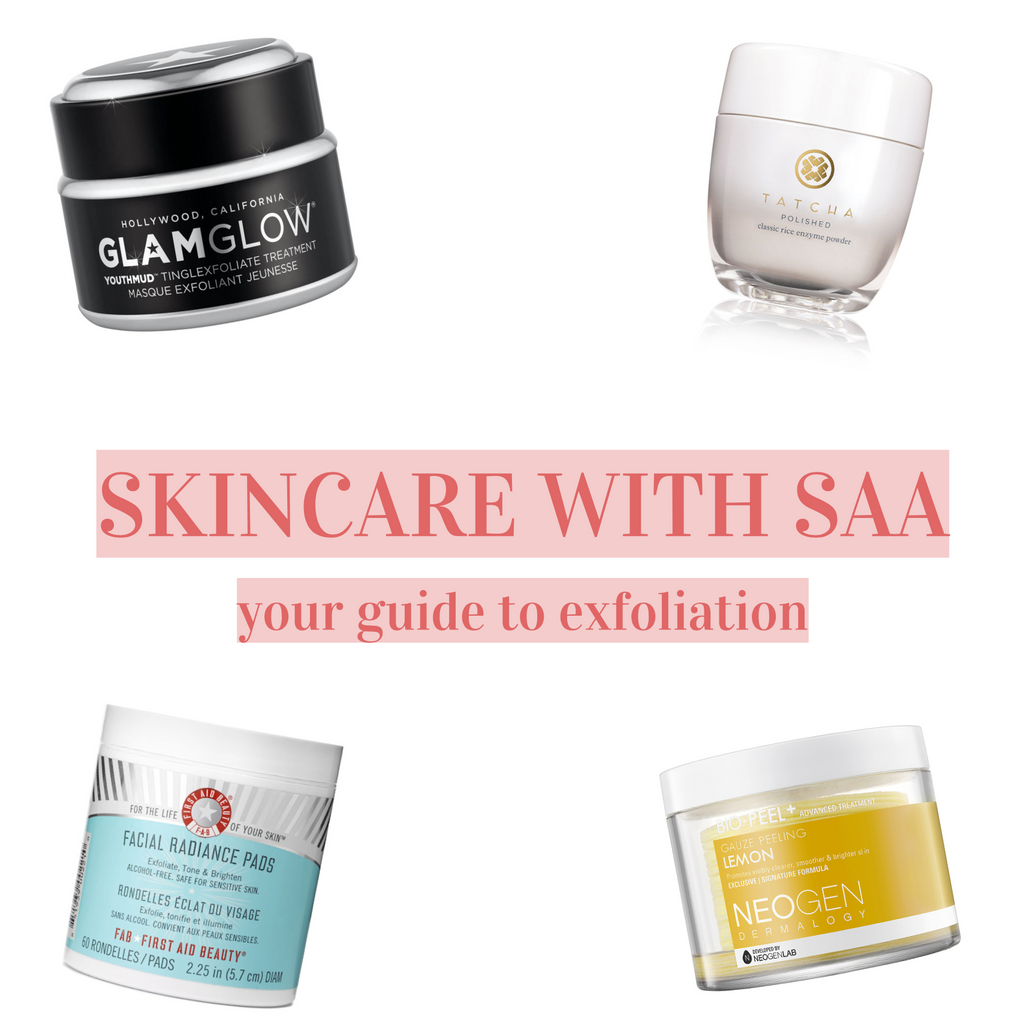 The Beginner's Guide to Exfoliation