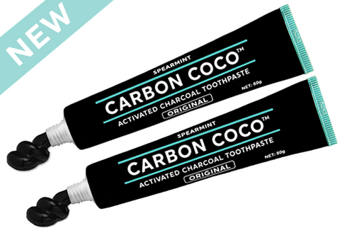 Fluoride-Free Activated Charcoal Toothpaste - Twin Pack
