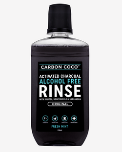 Activated Charcoal Alcohol Free Rinse