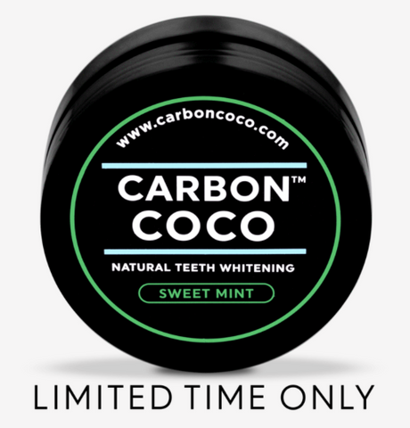 Sweet Mint Activated Charcoal Tooth Polish