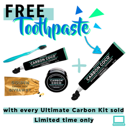 Ultimate Carbon Kit + Free Toothpaste