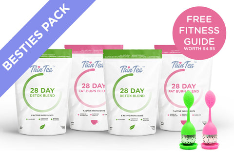 Besties' Pack (2 X 28 Day Detos + 2 Tea Infusers)