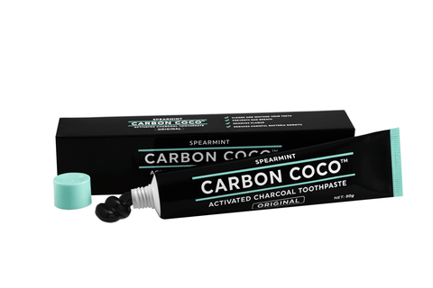 Fluoride-Free Activated Charcoal Toothpaste