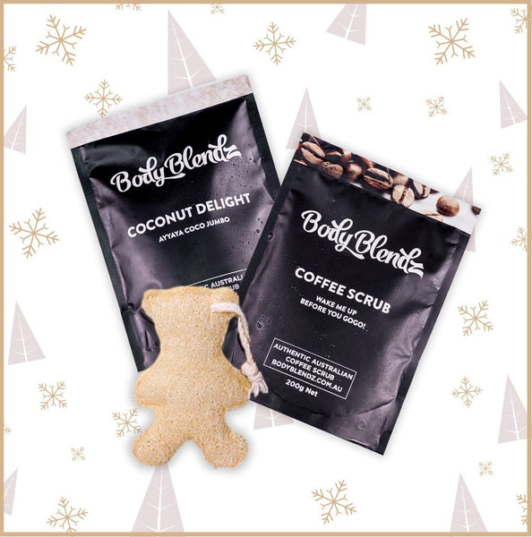 White Christmas Bodyblendz Holiday Kit