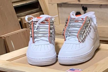 Air Force 1 Low New York Sunshine Install Team AF2.0 White