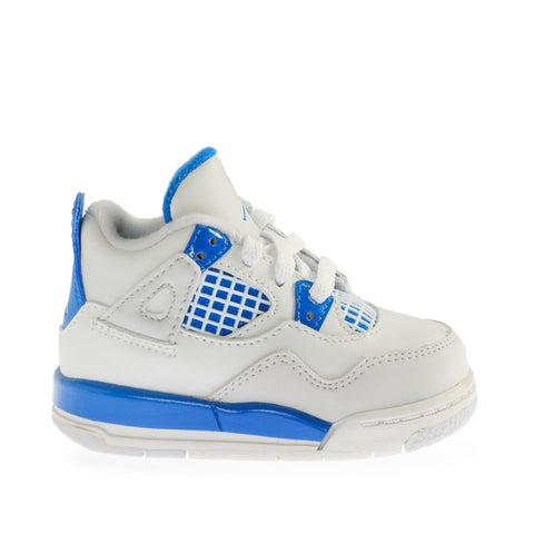 Air Infant Jordan 4 Retro Military Blue