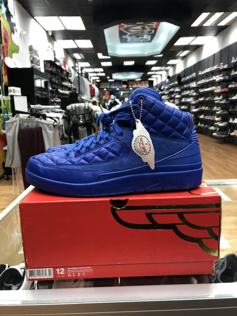 "Vnds Jordan 2 Retro Just Don Blue ""TRIED-ON"""