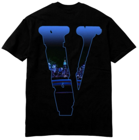 Pop Smoke x Vlone Armed And Dangerous T-Shirt Black
