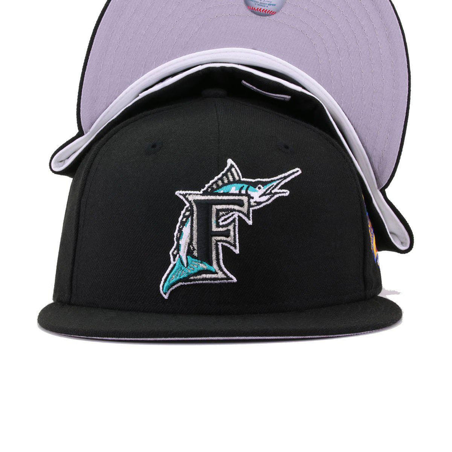 Florida Marlins Black 1997 World Series Cooperstown New Era 59Fifty Fitted
