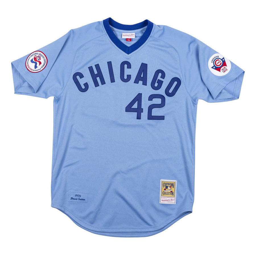 Mitchell & Ness Authentic Jersey Chicago Cubs 1976 Bruce Sutter