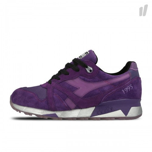 Diadora N9000 Packer Shoes x Raekwon Purple Tape