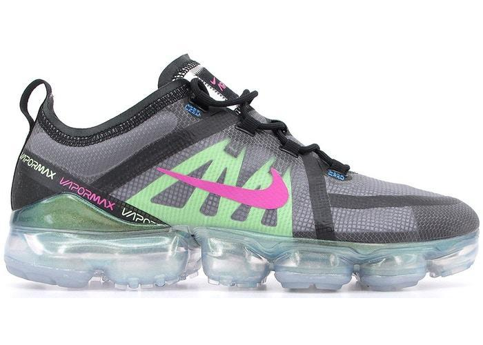 Nike Air VaporMax 2019 Premium Black Active Fuchsia Photo Blue