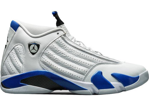 Air Jordan 14 Retro White Hyper Royal