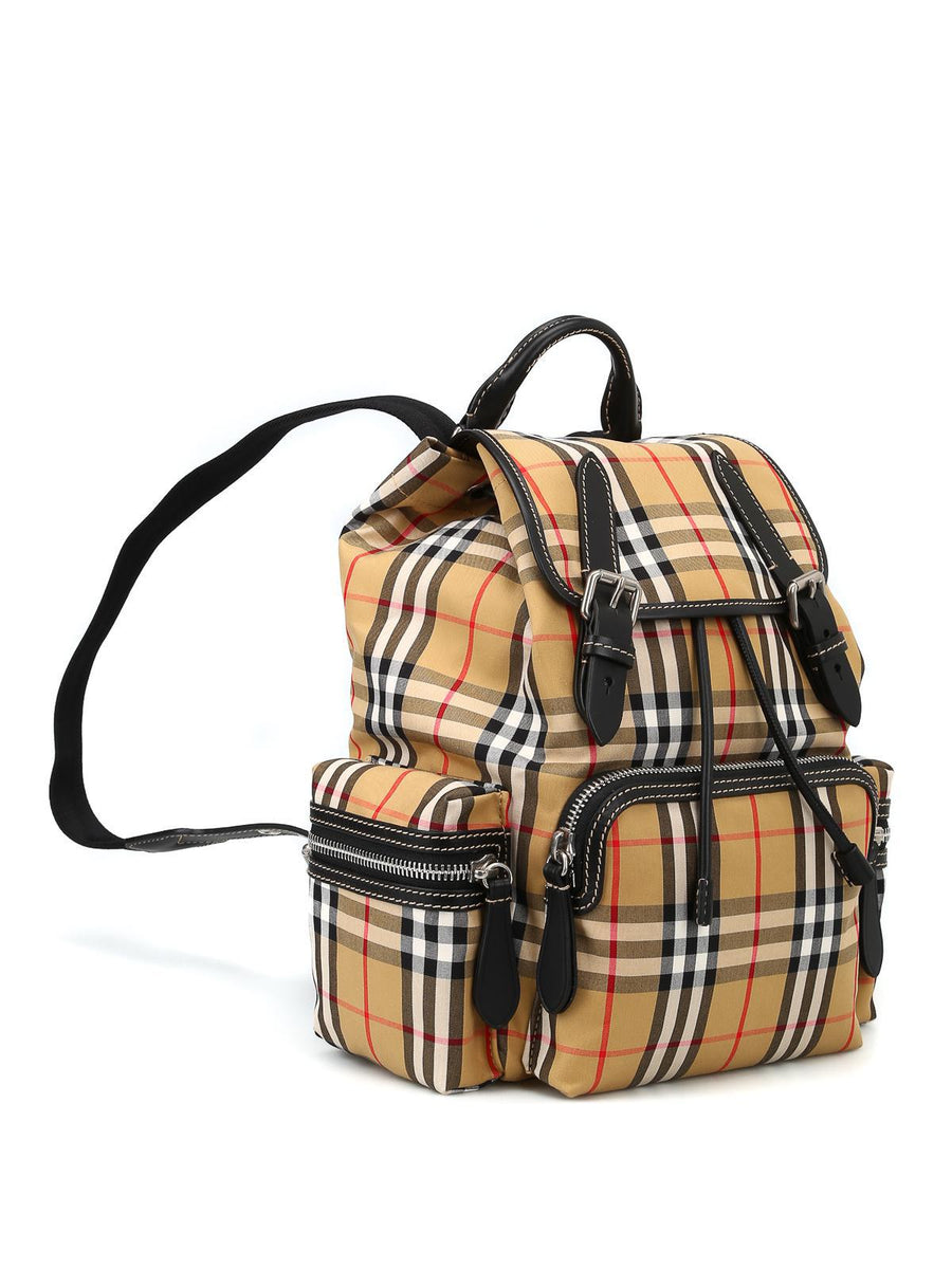 Burberry The Rucksack Vintage Check Medium Backpack