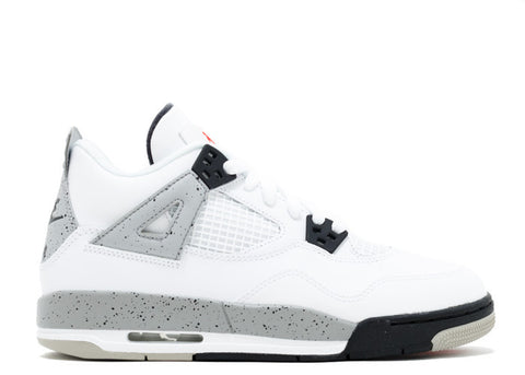 Air Jordan 4 Retro OG Cement 2016 GS