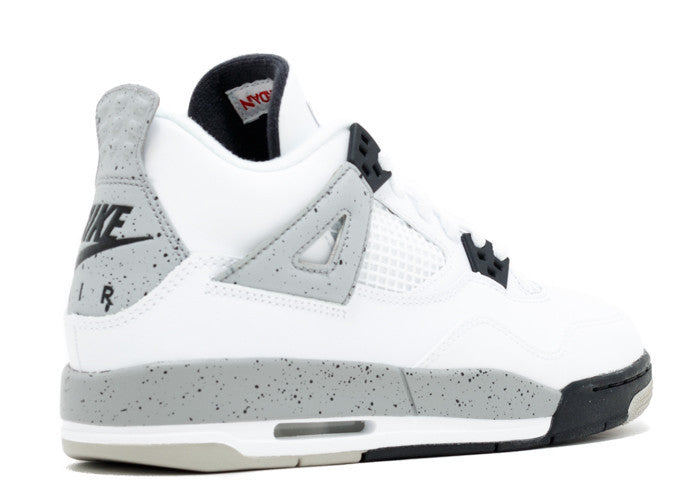 reputable site 72e47 931f0 Air Jordan 4 Retro OG White Cement 2016 GS