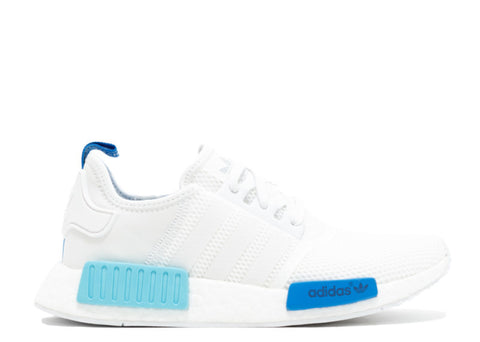Adidas NMD R1 Womens White Blue