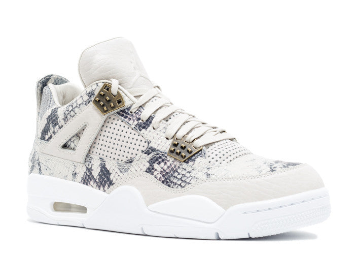 "Air Jordan Retro 4 Premium ""Pinnacle Snakeskin"""