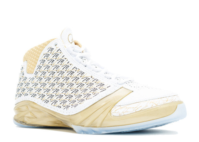"Air Jordan Retro 23 ""Trophy Room"" White/Mtlc-Gold"