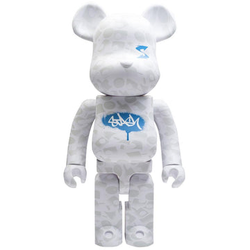 Bearbrick x Stash 1000% White