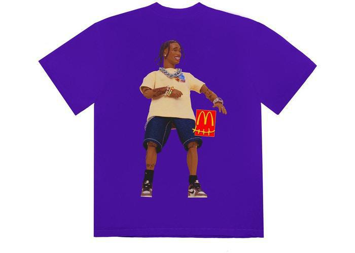 Travis Scott x McDonald's Action Figure Series II T-Shirt Purple