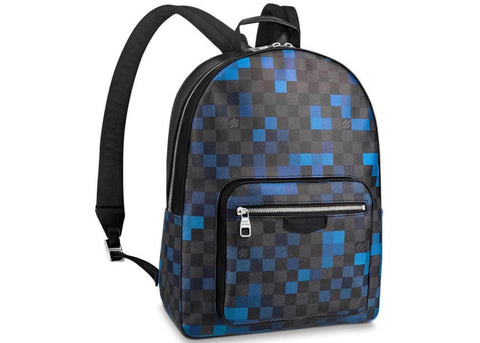Louis Vuitton Backpack Josh Damier Graphite Pixel Blue