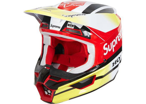 Supreme Honda Fox Racing V1 Helmet Red