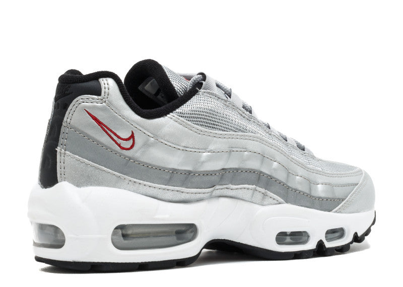low priced d387e c4894 Nike Womens Air Max 95 Silver Bullet