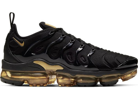 Nike Air VaporMax Plus Black Metallic Gold