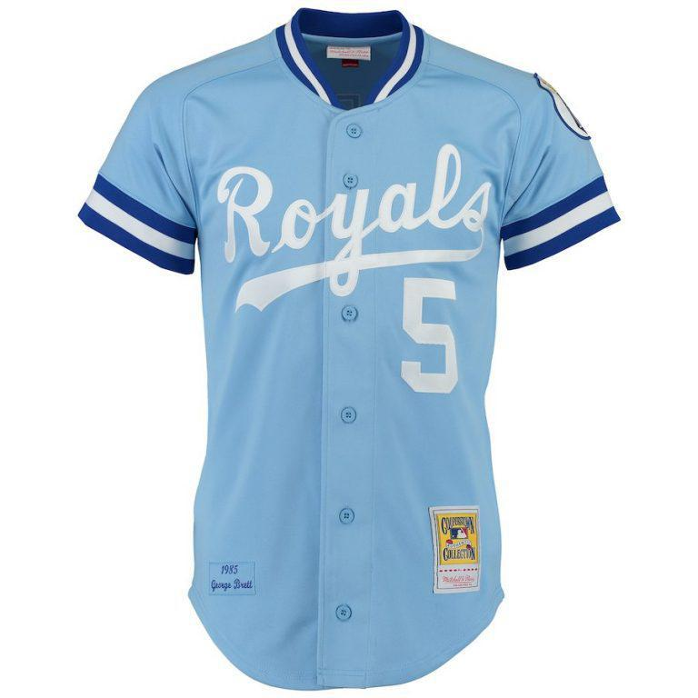 Mitchell & Ness Authentic Jersey - George Brett #5 Kansas City Royals