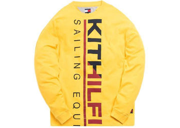 Kith x Tommy Hilfiger Sailing L/S Tee Yellow