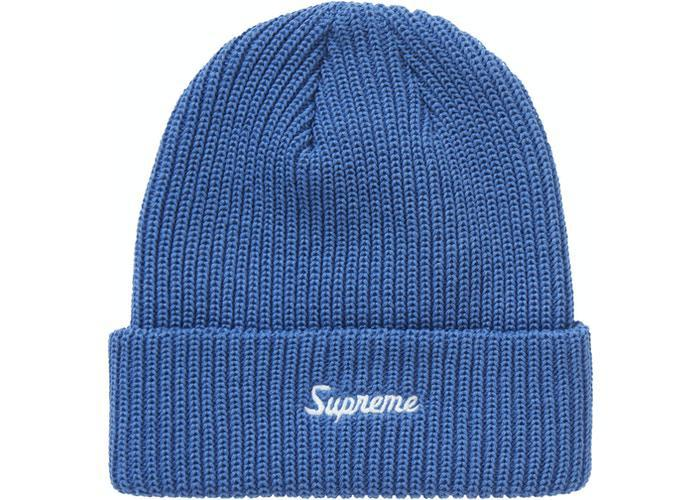 Supreme Loose Gauge Beanie (FW20) Light Indigo