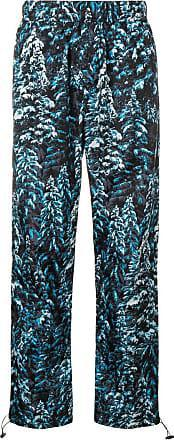 Palm Angels Pine Camo Print Trousers