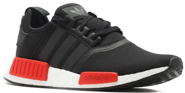 sports shoes fb1eb 10467 Adidas NMD R1 Black Red