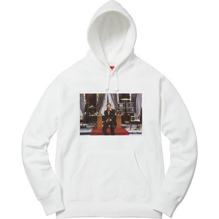 Supreme Scarface Friend Hoodie White