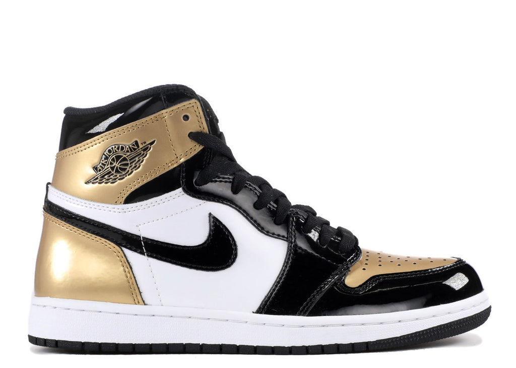 Air Jordan 1 Retro High Gold Top 3